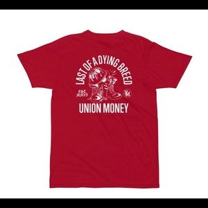 Union Money T-shirt Last of a Dying Breed T-shirt